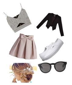 Summer buiz by jordanfashion14 on Polyvore featuring polyvore, fashion, style, River Island, GUESS, Chicwish, Vans and Monki