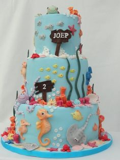 Under the Sea 2 (ABigail Bloom Cake Company)