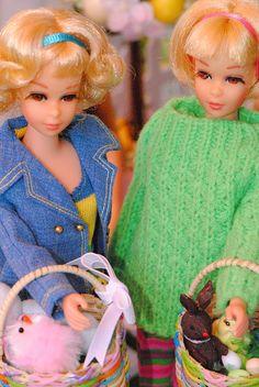 Easter baskets for Francie