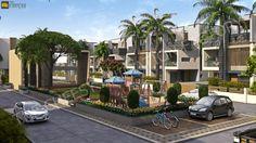 3D Exterior Rendering, 3D Home Design Services Company India.
