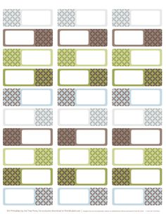 Designer Address Labels: download free address label templates designed by Inktreepress.com