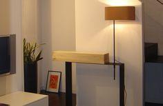 Troy konzolasztal és Lamp 2 lámpa