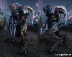 Crysis 3 - Grunt, Lars Martinsson on ArtStation at http://www.artstation.com/artwork/crysis-3-grunt