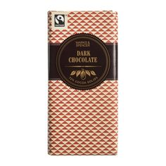 M&S Dark Chocolate 100g Spoiled Rotten, Best Mom, Cocoa, Sweets, Snacks, Chocolate, Dark, Appetizers, Gummi Candy