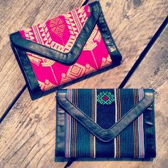 Colorfol bags of Morato with fabrics from Indonesia! www.materiallist.nl