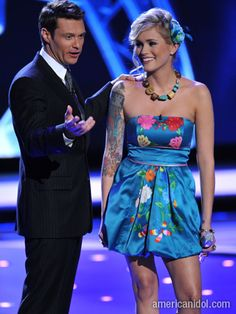 "Ryan Seacrest stepped in as the judges critiqued Megan Joy's performance of ""For Once In My Life""."
