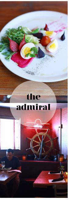 The Admiral--Asheville's finest gourmet dive... in my neighborhood! It's been featured in the NY Times on several occasions.