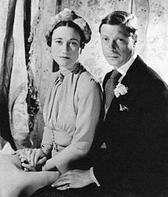 "Wallis & Edward - After the abdication, Edward was made Duke of Windsor by his brother, the now-King, who took the name George VI. Wallis was styled Duchess of Windsor but by a new statute created just for her, she was not called ""Her Royal Highness"". This is much discussed in Kitty Kelly's book The Royals, where she states that George's wife, Elizabeth Bowes-Lyon better known as the Queen Mother, was jealous of Bessie because she had wanted to marry Edward herself."