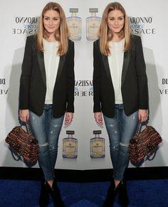 The Olivia Palermo Lookbook : Olivia Palermo At Disaronno Wears Versace Launch E...