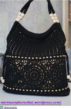Cartera color negro
