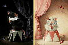Afbeeldingsresultaat voor muis schilderen