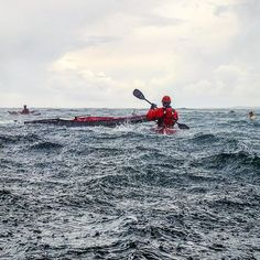 Heavy #rain, heavy #wind and huge clouds make the perfect setting for rescues and practicing land and launch from exposed coast 😎🤙 📸 @trond_glesaaen_ . . . #friluftsliv #outdoorlife #outdoor #seakayaking #paddleliving #paddling #kajakk #kayak #mittfriluftsliv #mittnorge #norway #liveterbestute #utno #water #sky #expedition #intothewild #contrast #nature #archipelago #adventure #outdoors #turistforeningen #dreamchaser  #sweetprotection #wernerpaddles #kokatat #summer #water #adventure Dream Chaser, Archipelago, Outdoor Life, Kayaking, Norway, Coast, Waves, Clouds, Sky