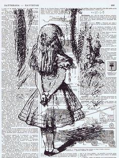 alice in wonderland old books - Google Search