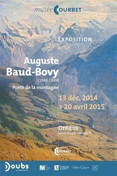 Auguste #BaudBovy : un #peintre de la #montagne au Musée Courbet à Ornans