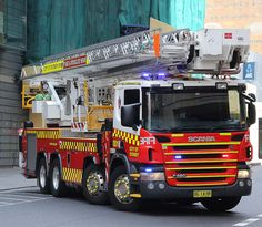 NSW Fire & Rescue - City of Sydney 001