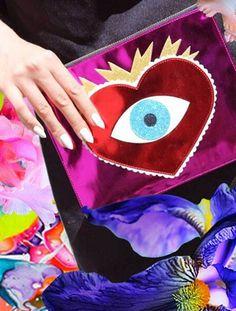 Eye Heart You Clutch