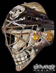 Pirate's Skull #4 by DAVEART MaskGallery, via Flickr