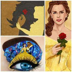 A Bela e a Fera (Artes) Beauty and the Beast (Art)