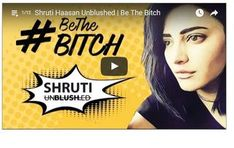 The powerful video sees Shruti Haasan embracing a common Indian insult for women in the most epic way!