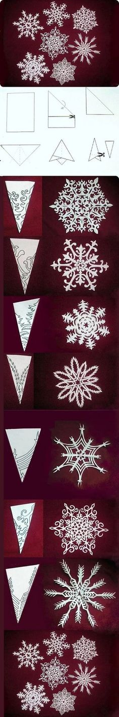 I love the paper snowflake curtains that are proudly displayed on Pinterest. Supposedly, they are really easy to make! There are lots of tutorials that come wi