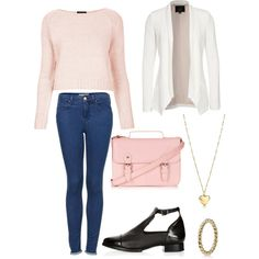 #polyvore #outfit #denim #jeans #fashion #mode #style #blogger