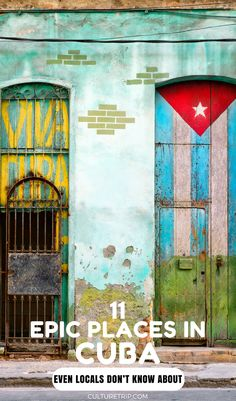 If you're looking to get away from the tourist crowds and see a different side of Cuba, read our guide to the top hidden places to visit. Vinales, Varadero, Trinidad, Cienfuegos, Hidden Places, Places To Visit, Florida Keys, Bali Tour, Santiago De Cuba