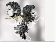 Week6- CLIENT/ VITA  2014 by Gabriel Moreno who is an artist based in Madrid. I like his pieces make striking statements about female beauty through graphic and elegant images. The work is comprised of flowing and precise fine black lines.  work with etching and he uses multiple artistic mediums and tools such as pencil, ink, marker, watercolor, and digital art. Very realistic and and strong vision
