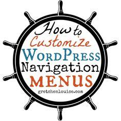 """The purpose of your WordPress menus—also known as the navigation or """"nav"""" bars—is to help your website visitors around your website. By default, most WordPress themes put the pages you create into your navigation bar—in the order they are created (you can change the page order numerically by editing the page attributes). This default setting …"""