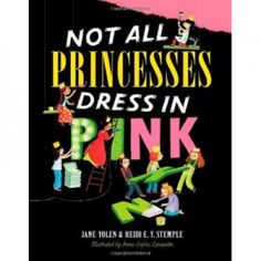 This book is not so much about being different and facing adversity but about being yourself even if the world has decided you should be something else. When we think of Princesses we think pink, sparkly and dry clean only! These princesses can't be pigeonholed, they do what's in their heart not what's expected of them just because they are princesses. The princesses have all different interests, all different looks and I love that there are some with glasses too.