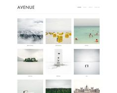 Cute Website Templates! Nice web design for your business or portfolio makes an incredible difference in how the public views your work. {Avenue Template}