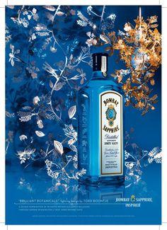 Publicidad Bombay Saphire