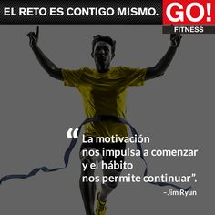 Jim Ryun. #gofitness #clasesgo #ejercicio #gym #fit #fuerza #flexibilidad #reto #motivate #frases #jimryun Love Run, My Love, Go Fitness, Training Day, Just Do It, Coaching, Exercise, Messages, Running