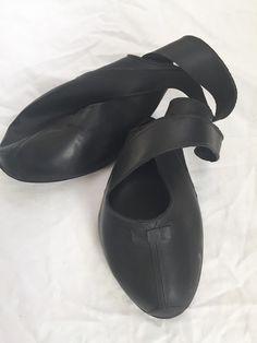 Vintage Black Rubber Overshoes Galoshes Girls Sz 13 Servus