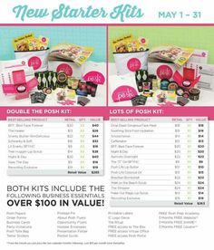 New kits for May, you choose which one you want! Just $99 to invest in you and start a truly fun business! I am having so much fun using and sharing Posh products, and I know you will too! Www.perfectlyposh.com/13471 #shopping #freebies #free #spa #fabulous #relaxation #networkmarketing #networking #marketing