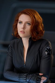 Scarlett Johansson as Natasha Romanoff/The Black Widow in The Avengers. Can I have her hair please? Black Widow Avengers, New Avengers, Avengers Poster, Avengers Series, Natasha Romanoff, Scarlett Johansson, Vicky Cristina Barcelona, Black Widow Scarlett, Black Widow Natasha