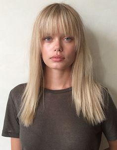 "9 Seriously Epic Model Makeovers #Refinery29 The solution? Hairstory's Darling brought her ""warm, sunny blonde to a cooler beige tone,"" while Wes Sharpton gave her a sultry style that ""lends a sensuality to her face."" Sharpton's cut frames her face in a style that's almost Claudia Schiffer-reminiscent. ""Initially, she was terrified,"" he says with a laugh. ""But, she looks more modern! She loved it after we were finished."""