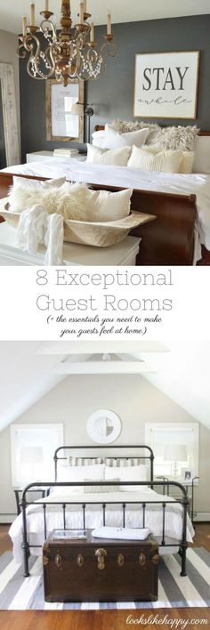 8 amazinggggg guest rooms!