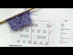 How to Knit from a Chart