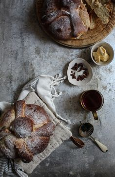 bread and butter food styling