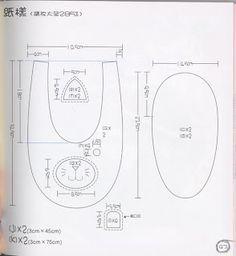 Booties foami Moldes EVA Baby Shower Crafts Patterns - Buscar con Google