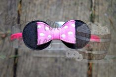 Miss Mouse Inspired Bow - Bobbin For Appliques