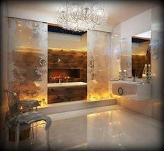 BOISERIE & C.: Uno splendido bagno degno della Regina delle Nevi