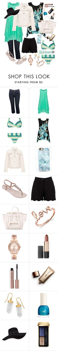 """""""Perfect Florida Weekend Get-aWay!"""" by margie444 ❤ liked on Polyvore featuring M&Co, La Stampa, Carmakoma, Casetify, IPANEMA, Boohoo, CÉLINE, Sydney Evan, Michael Kors and Estée Lauder"""