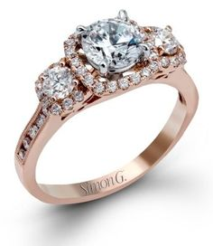 Sophisiticated Simon G. Engagement Ring