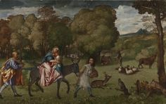 National Gallery borrows The Flight Into Egypt, not seen outside Russia since it was bought by Catherine the Great in 1768 National Gallery, Catherine The Great, Hermitage Museum, Art Corner, Galleries In London, First Art, Caravaggio, Native Art, A Christmas Story
