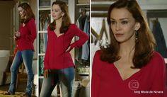 moda da novela Em Família - look da Helena dia 10 de junho