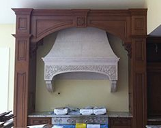 installing an Oven Hood - Concrete Decor