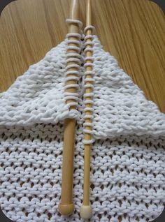 comment tricoter la maille liseuse