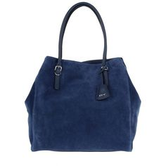 Abro Handle Bag - Kaleido Tote Suede Royal - in blue - Handle Bag for... (3.454.595 IDR) ❤ liked on Polyvore featuring bags, handbags, tote bags, blue, blue suede handbag, suede handbags, man bag, hand bags and blue tote bag