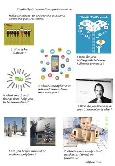 Creativity---innovation-questionnaire-lesson